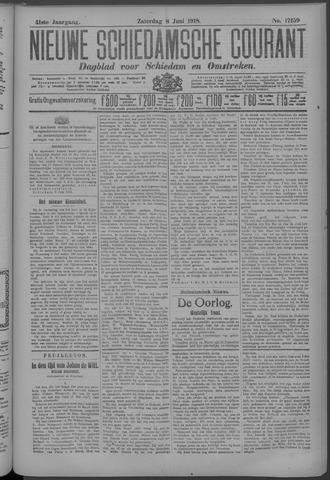 Nieuwe Schiedamsche Courant 1918-06-08