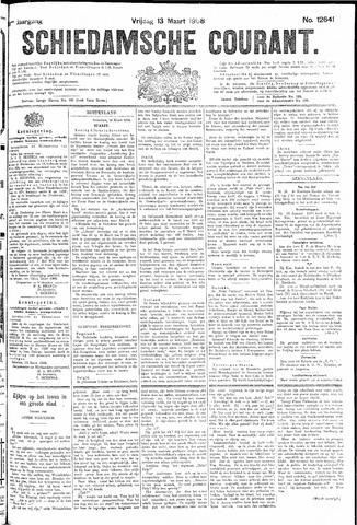Schiedamsche Courant 1908-03-13