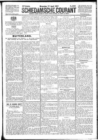 Schiedamsche Courant 1927-04-27