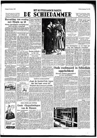 Rotterdamsch Parool / De Schiedammer 1948-10-08