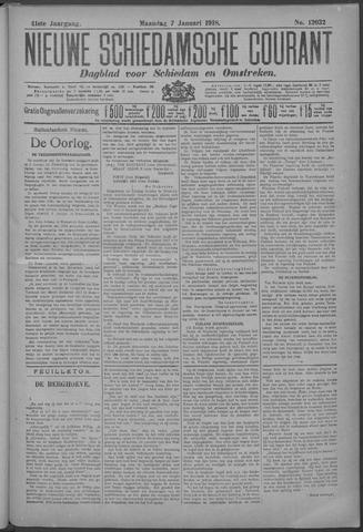 Nieuwe Schiedamsche Courant 1918-01-07