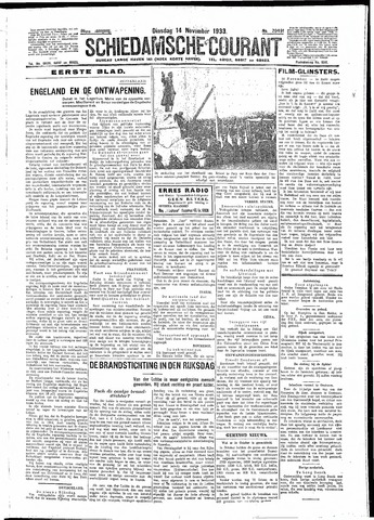 Schiedamsche Courant 1933-11-14