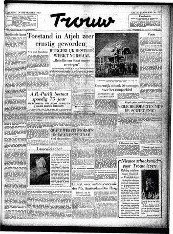 Trouw / De Rotterdammer 1953-09-26
