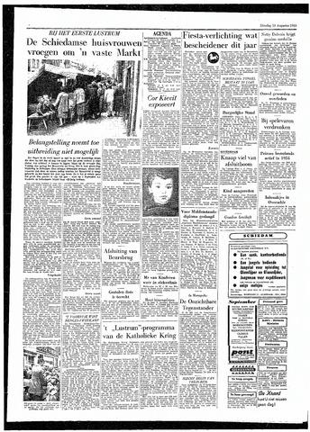 Rotterdamsch Parool / De Schiedammer 1955-08-16