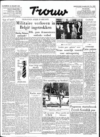 Trouw / De Rotterdammer 1955-03-26