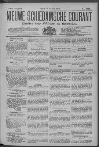 Nieuwe Schiedamsche Courant 1909-10-15