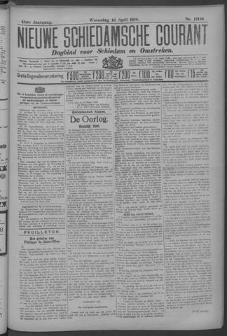 Nieuwe Schiedamsche Courant 1918-04-10