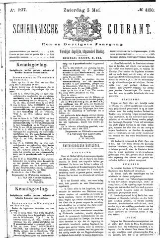 Schiedamsche Courant 1877-05-05