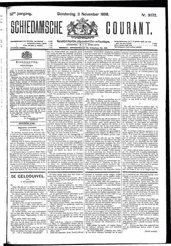 Schiedamsche Courant 1898-11-03