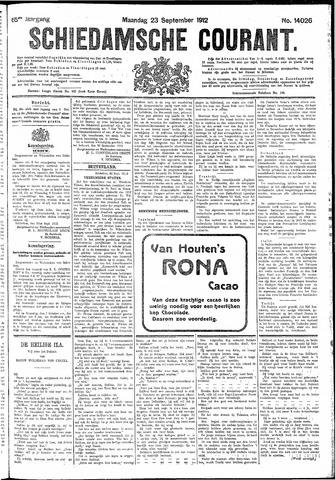 Schiedamsche Courant 1912-09-23