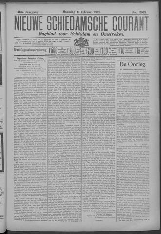 Nieuwe Schiedamsche Courant 1918-02-11
