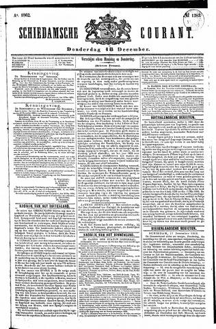 Schiedamsche Courant 1862-12-18