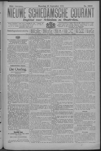 Nieuwe Schiedamsche Courant 1918-09-16