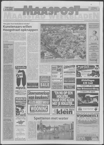 Maaspost / Maasstad / Maasstad Pers 1998-08-12
