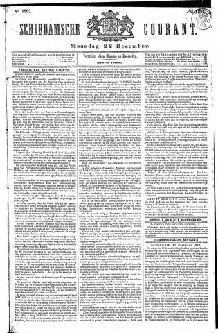 Schiedamsche Courant 1862-12-22