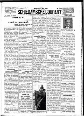 Schiedamsche Courant 1935-05-08