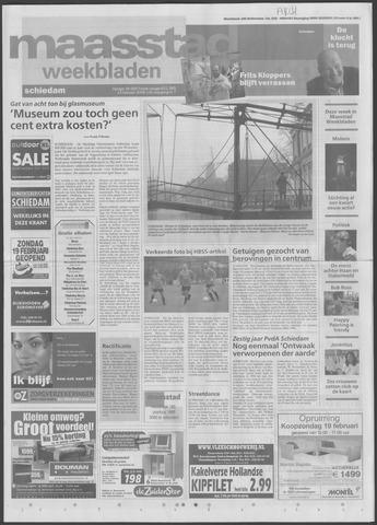 Maaspost / Maasstad / Maasstad Pers 2006-02-15