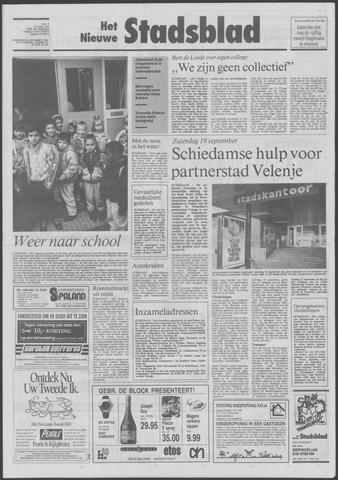 Het Nieuwe Stadsblad 1992-09-09