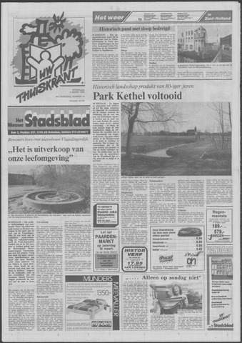 Het Nieuwe Stadsblad 1988-03-09