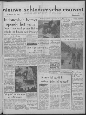 Nieuwe Schiedamsche Courant 1958-03-22