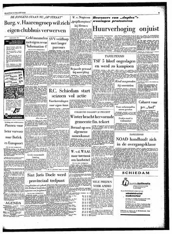 Rotterdamsch Parool / De Schiedammer 1963-03-11