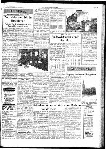 Rotterdamsch Nieuwsblad / Schiedamsche Courant / Rotterdams Dagblad / Waterweg / Algemeen Dagblad 1959-01-06