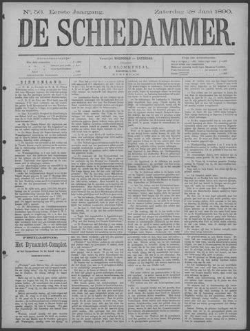De Schiedammer 1890-06-28