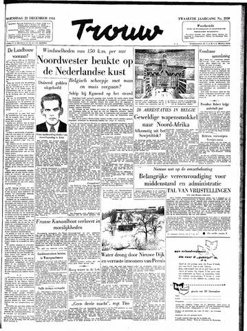 Trouw / De Rotterdammer 1954-12-22