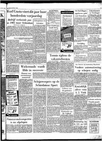 Rotterdamsch Parool / De Schiedammer 1962-07-30