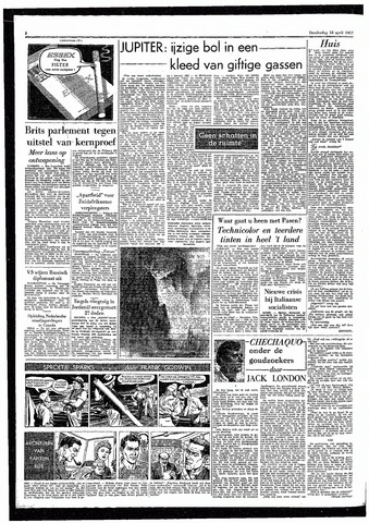 Rotterdamsch Parool / De Schiedammer 1957-04-18