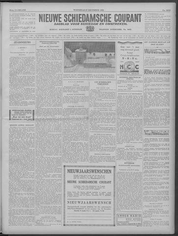Nieuwe Schiedamsche Courant 1933-12-27
