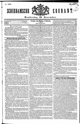Schiedamsche Courant 1862-12-11