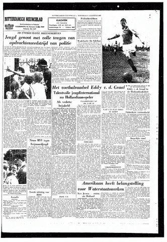 Rotterdamsch Nieuwsblad / Schiedamsche Courant / Rotterdams Dagblad / Waterweg / Algemeen Dagblad 1965-08-11