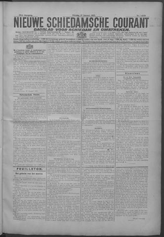 Nieuwe Schiedamsche Courant 1925-01-27