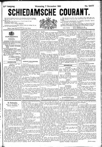 Schiedamsche Courant 1910-12-07