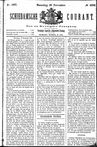 Schiedamsche Courant 1877-11-19