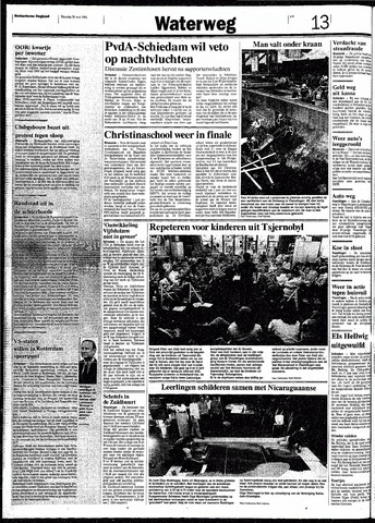 Rotterdamsch Nieuwsblad / Schiedamsche Courant / Rotterdams Dagblad / Waterweg / Algemeen Dagblad 1991-05-28