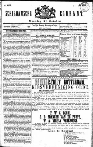 Schiedamsche Courant 1866-10-29