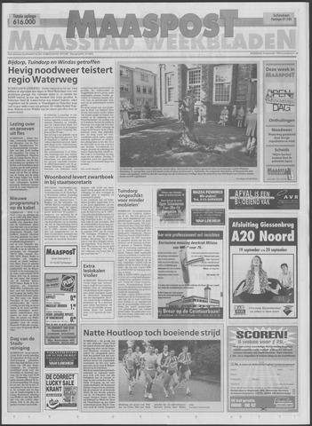 Maaspost / Maasstad / Maasstad Pers 1998-09-16
