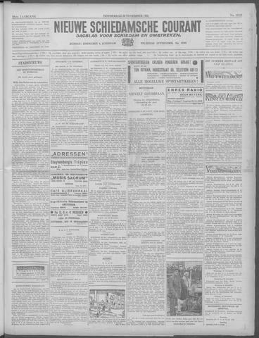 Nieuwe Schiedamsche Courant 1933-11-30