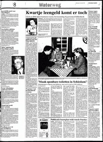 Rotterdamsch Nieuwsblad / Schiedamsche Courant / Rotterdams Dagblad / Waterweg / Algemeen Dagblad 1991-11-04