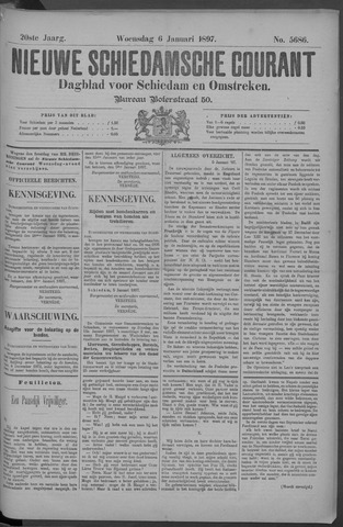 Nieuwe Schiedamsche Courant 1897-01-06