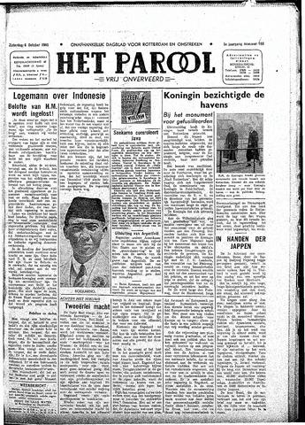 Rotterdamsch Parool / De Schiedammer 1945-10-06