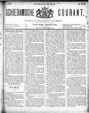 Schiedamsche Courant 1885-04-23