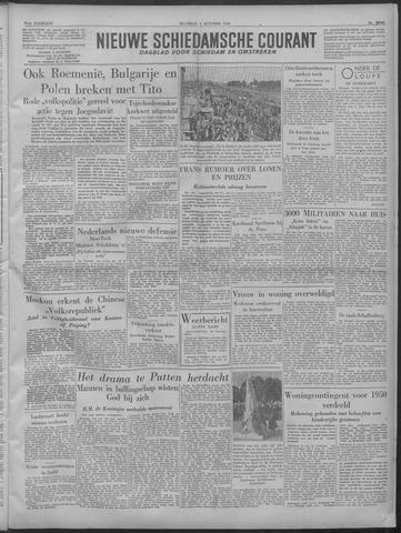 Nieuwe Schiedamsche Courant 1949-10-03