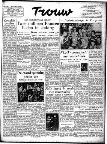 Trouw / De Rotterdammer 1953-08-07