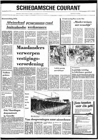 Rotterdamsch Nieuwsblad / Schiedamsche Courant / Rotterdams Dagblad / Waterweg / Algemeen Dagblad 1979-05-29