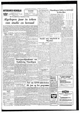 Rotterdamsch Nieuwsblad / Schiedamsche Courant / Rotterdams Dagblad / Waterweg / Algemeen Dagblad 1965-01-09