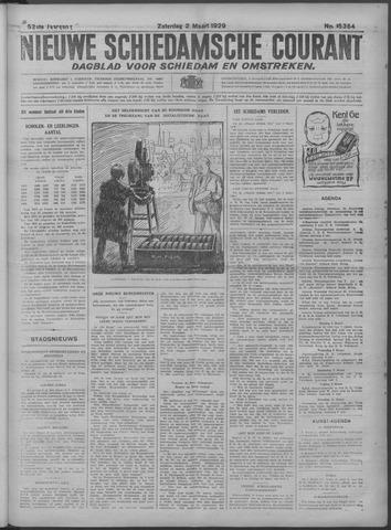 Nieuwe Schiedamsche Courant 1929-03-02