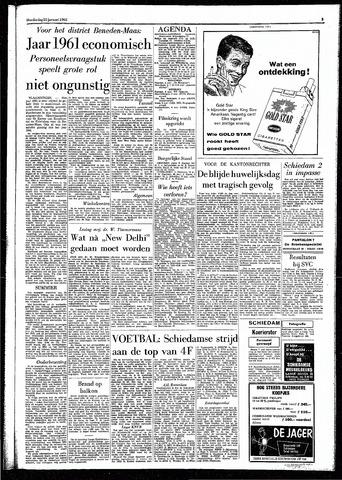 Rotterdamsch Parool / De Schiedammer 1962-01-25